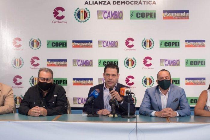 Lista de candidatos por el Zulia de Alianza Democrática para el 6-D