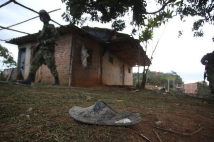 Asesinato en el Cauca