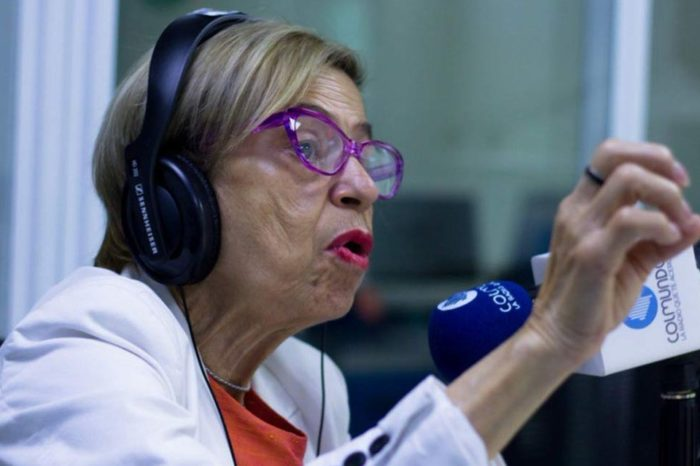 Falleció en Colombia la periodista Berenice Gómez