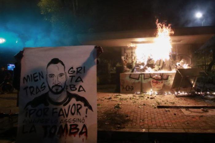 Bogotá protestas 09.09.2020