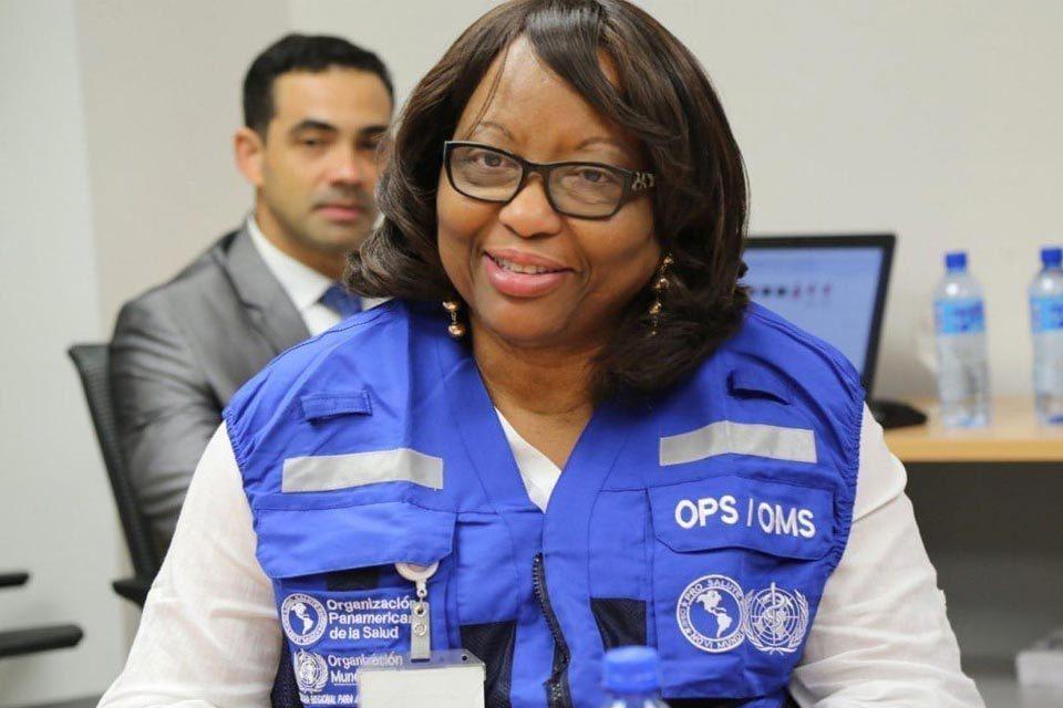 Directora de la OPS, Carissa Etienne