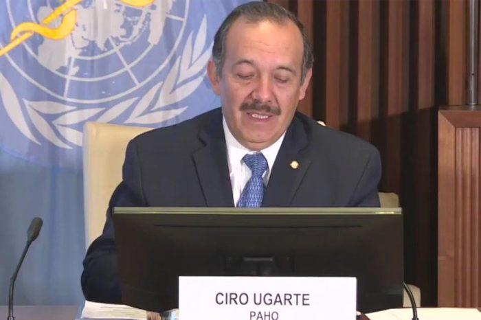 Ciro Ugarte, director de Health Emergencies de la OPS