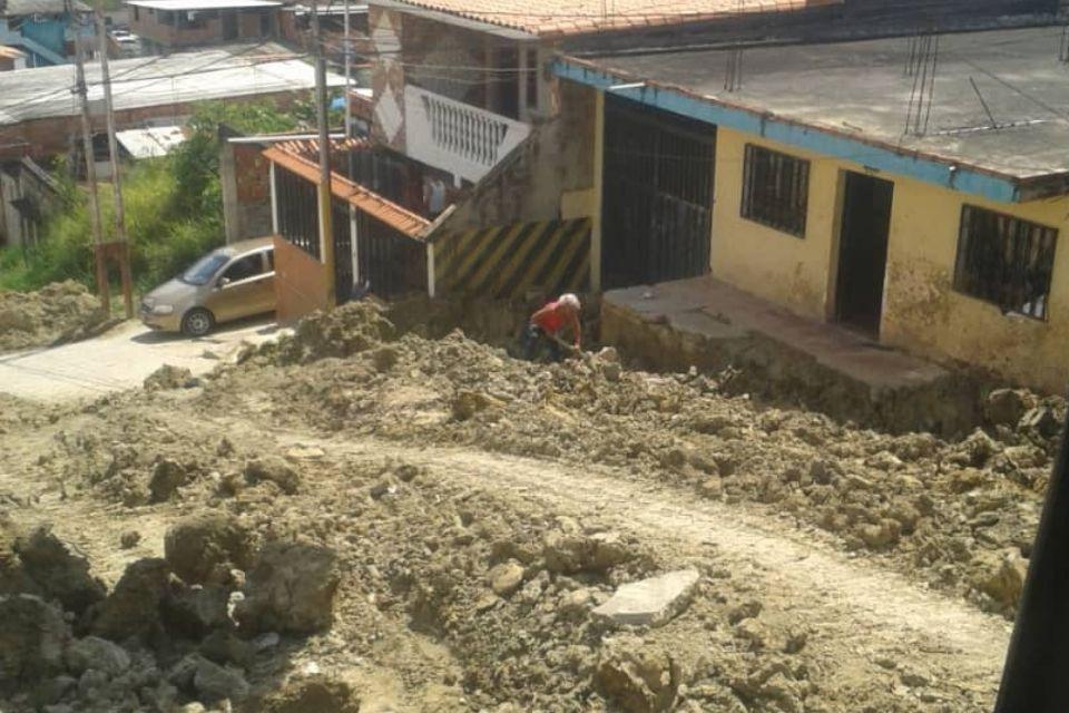 Sector las Barrancas estado Táchira