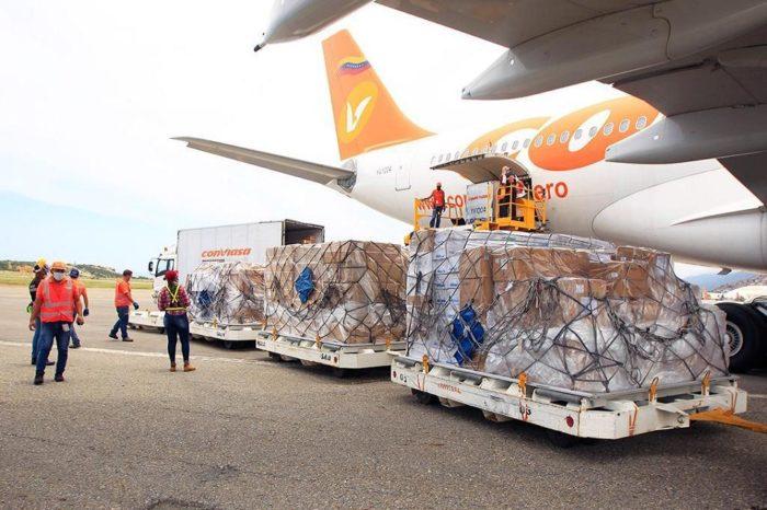 Arriba a Venezuela séptimo vuelo con ayuda humanitaria proveniente de China