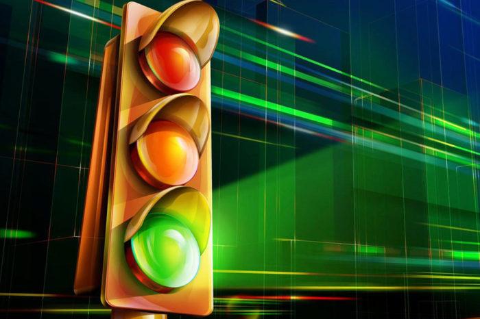 El semáforo, por Simón García