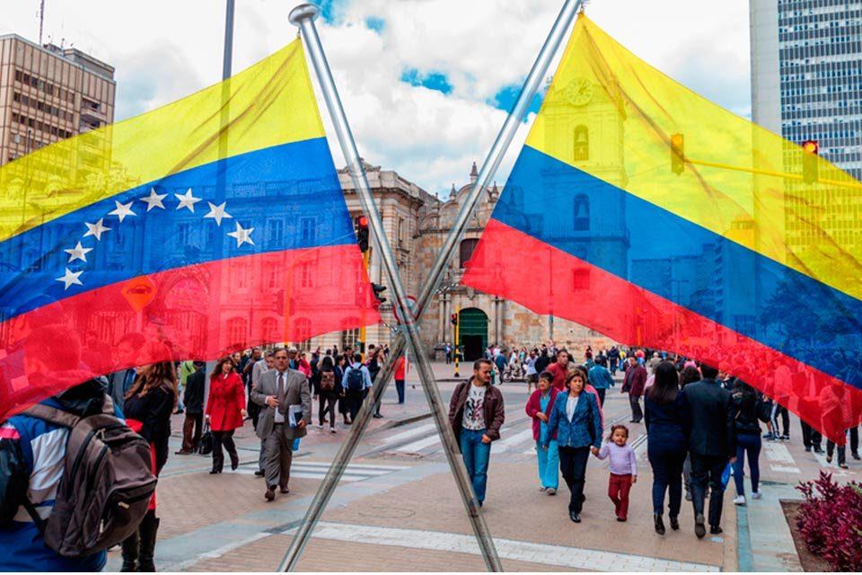En colombiano, en venezolano Colombia