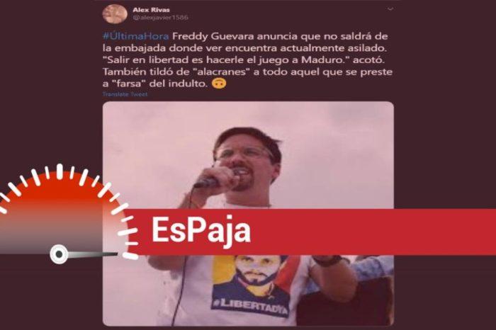 Freddy Guevara EsPaja
