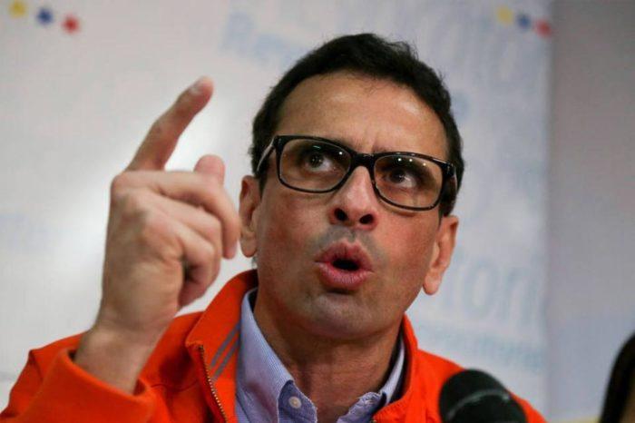 Capriles tiene la palabra