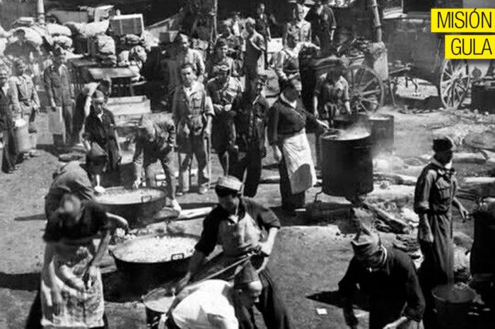 La cocina en tiempos de guerra