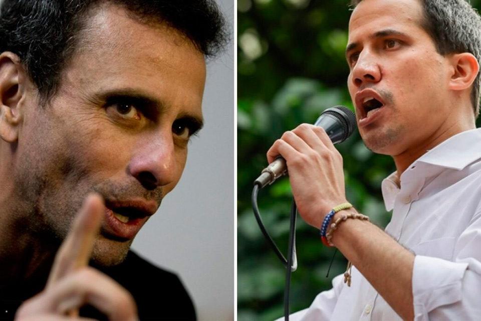 La conjura de Capriles
