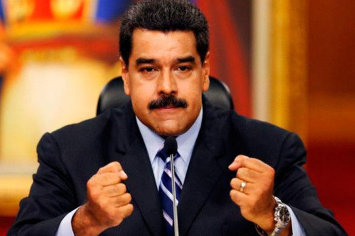 """Maduro presentó ante la ANC proyecto de """"ley"""" que busca frenar bloqueo de EEUU"""