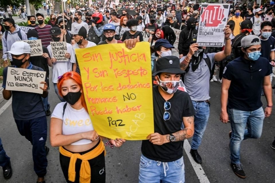 Masacre en Colombia
