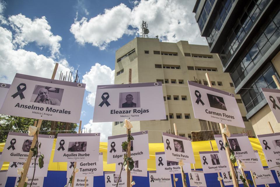 Medicos fallecidos por covid-19