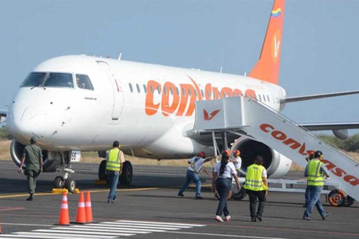 vuelos internacionales Conviasa