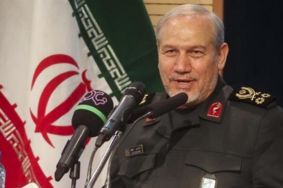 Yahya Rahim Safavi, asesor militar de Irán