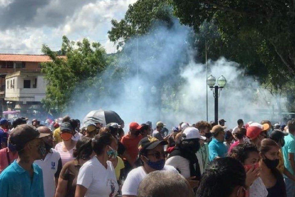 Yaracuy protesta por fallas de los servicios públicos por quinto día consecutivo