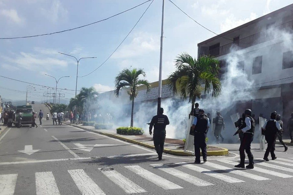 Yaracuy protesta por fallas de servicios públicos por quinto día consecutivo