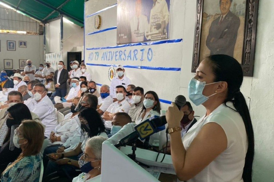 Laidy Gomez gobernadora del Táchira