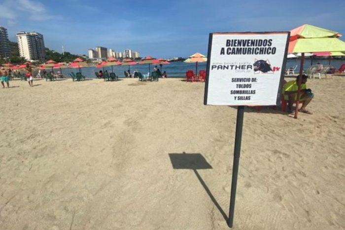 playas Vargas Camuri Chico covid-19