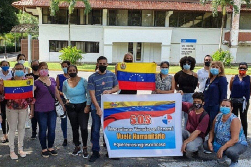 venezolanos-varados en-panama