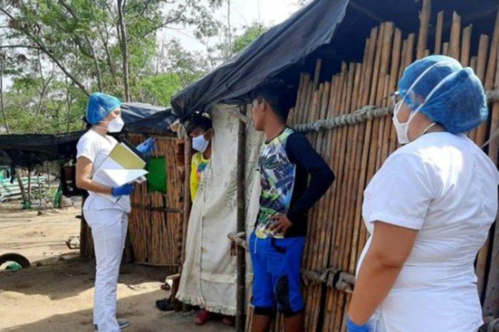 Van cinco infectados de covid-19 en campamento yukpa situado en Cúcuta