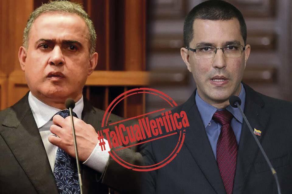 TalCual Verifica Tarek William Saab Jorge Arreaza