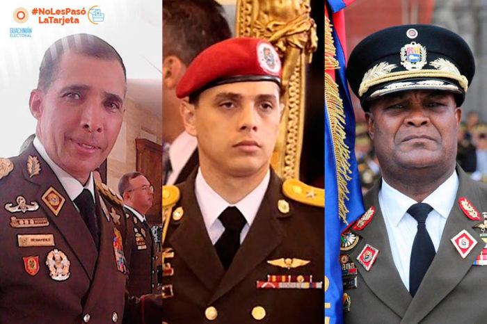 Militares señalados de represores buscan inmunidad parlamentaria