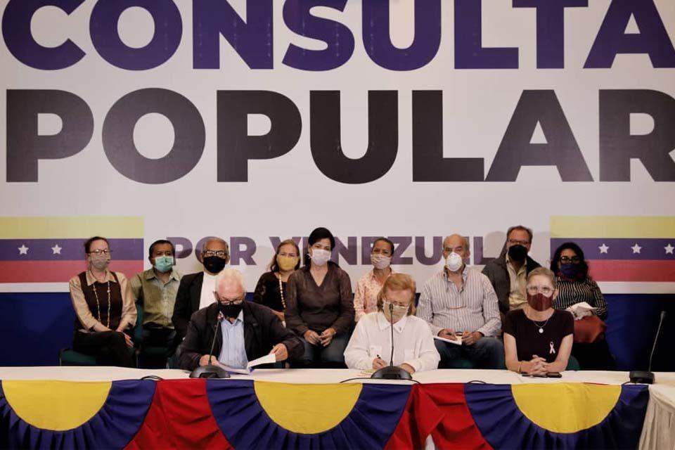 Segundo boletín de la consulta popular de Guaidó