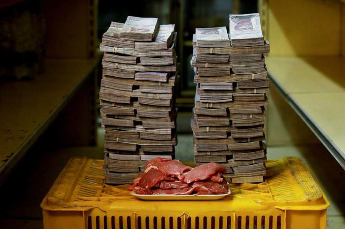 Con el billete de mayor valor solo se puede comprar 27 gramos de bistec