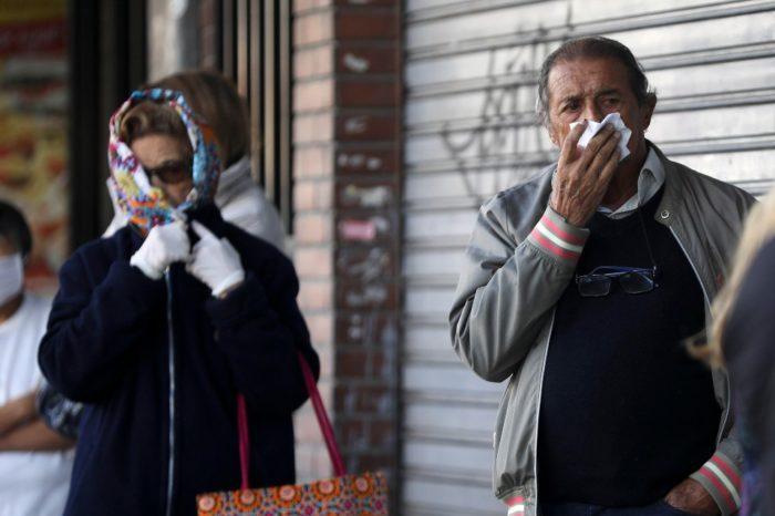 En Argentina los contagios y muerte por coronavirus no dan tregua