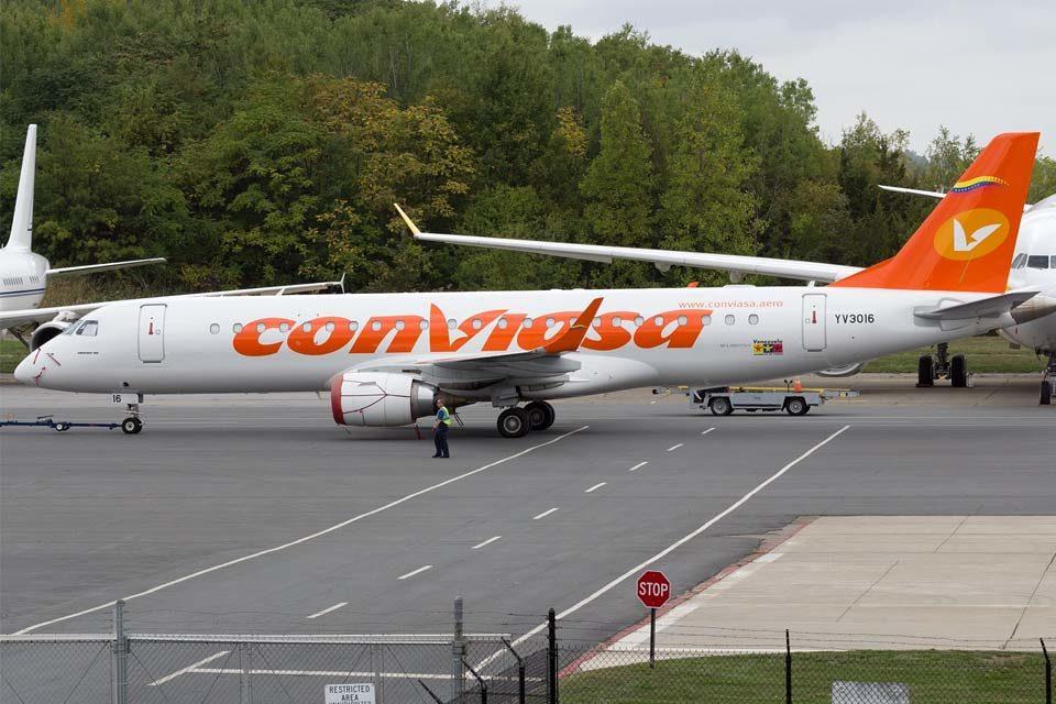 Avión de Conviasa traslada a Evo Morales a Venezuela inac - protocolo