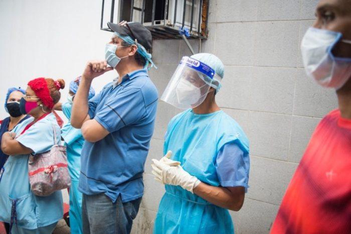 Trabajadores de la salud- Ayuda Humanitaria hospitales
