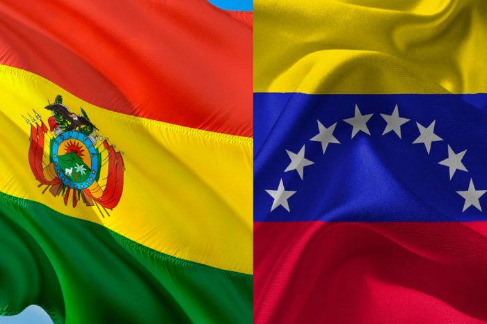 Bolivia y Venezuela