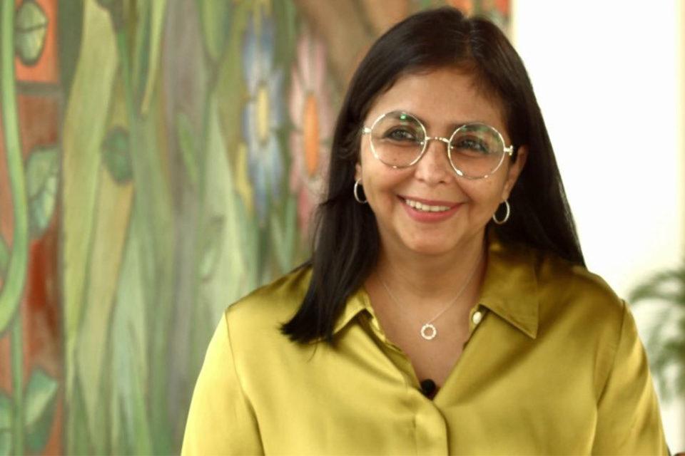 Delcy Rodríguez covid-19