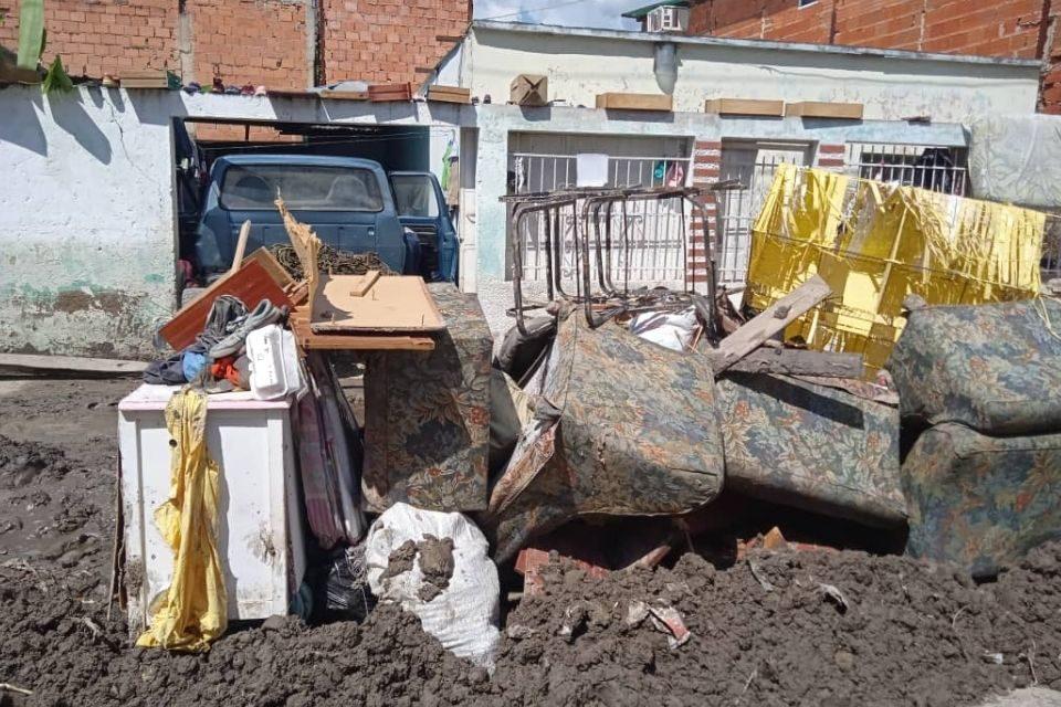 Inundación en Aragua