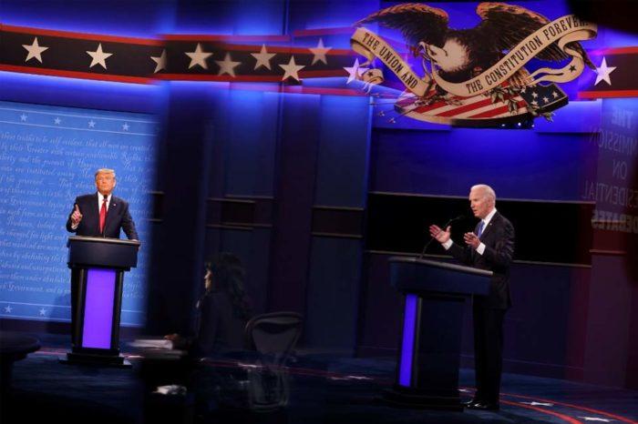 Con más acusaciones que propuestas cerró el último debate entre Trump y Biden