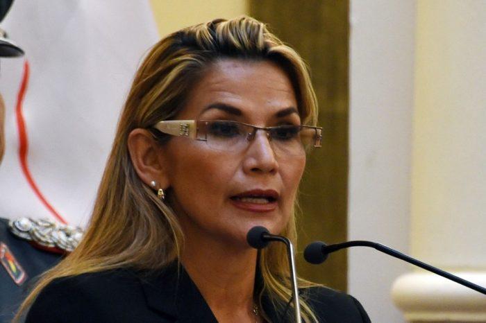 Parlamento saliente de Bolivia recomendó juicio contra presidenta interina Jeanine Áñez