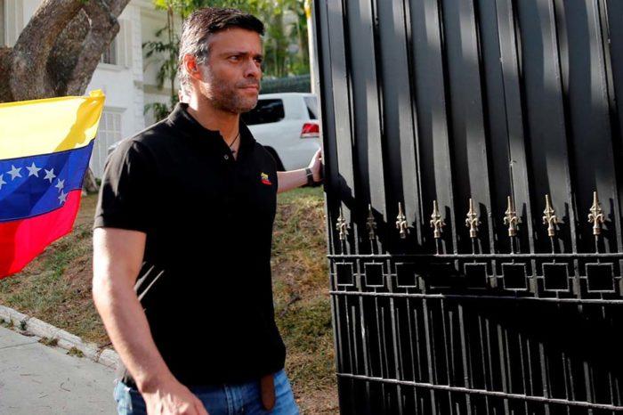 Salida de Leopoldo robó a los venezolanos esperanzas de posible triunfo de Guaidó