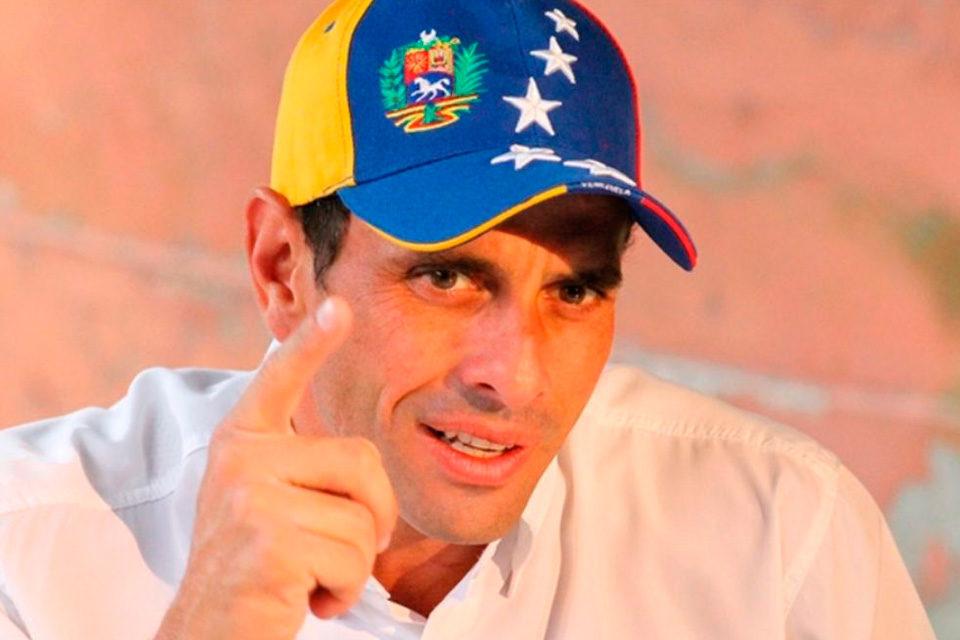 Un paso, ¿hacia dónde? capriles