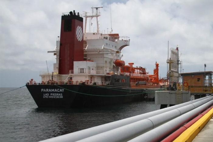 Transferencias de crudo de Pdvsa en el Caribe