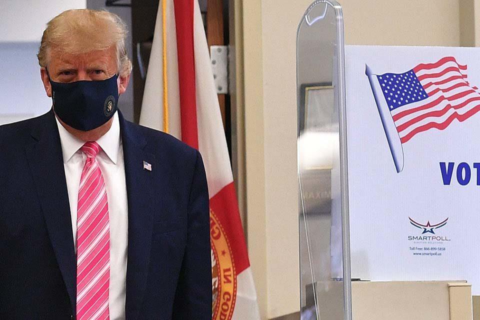 Trump vota