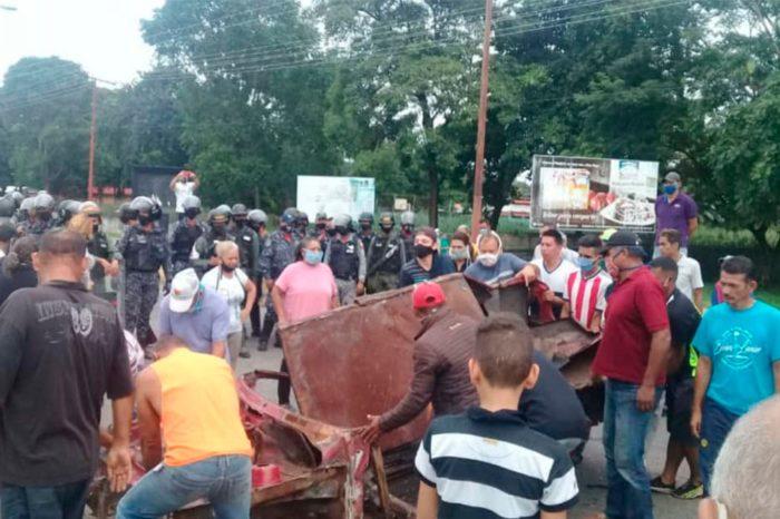 protestas gasolina barinas