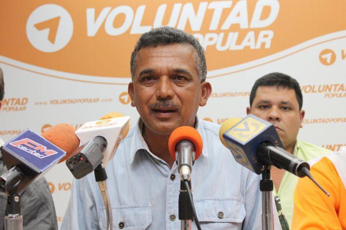 Voluntad Popular denuncia que el Conas detuvo al dirigente Yovanny Salazar en Guárico