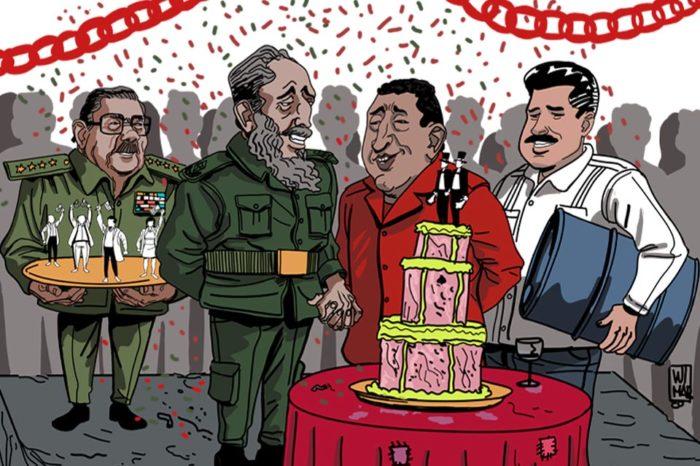 Cuba y Venezuela: 20 años de matrimonio dispar