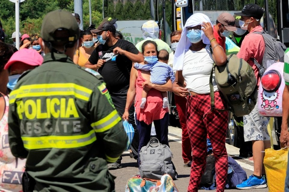 migrantes venezolanos (1) Colombia