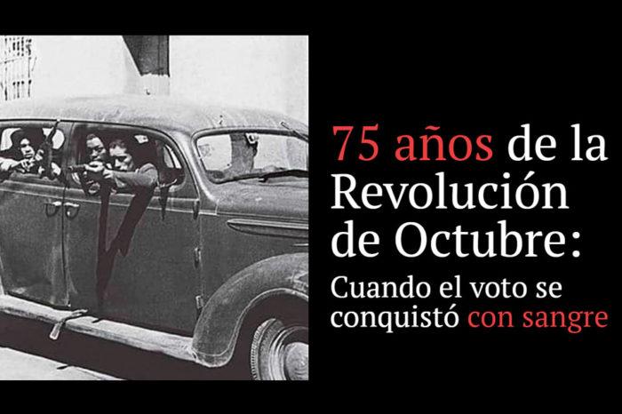 revolución de octubre TC