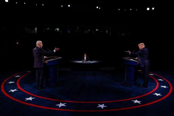 Debate Trump-Biden atendió inquietudes hispanas en EEUU, dicen analistas