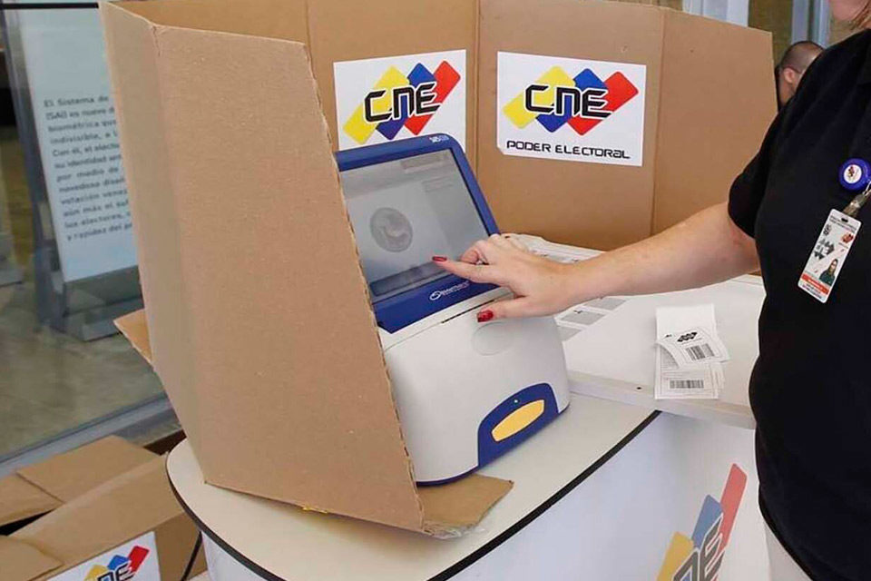 Alí Baba en el CNE - simulacro electoral