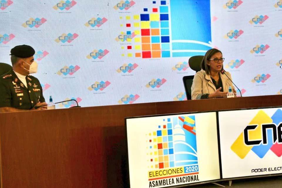 CNE Indira Alfonzo campaña electoral