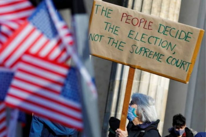 EEUU - protestas - Trump